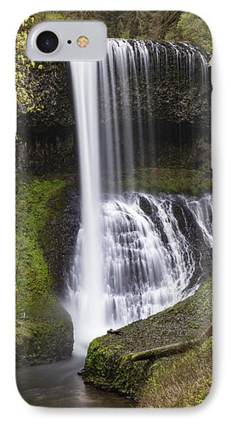 Drake Falls In Silver Falls State Park IPhone Case by John McGraw
