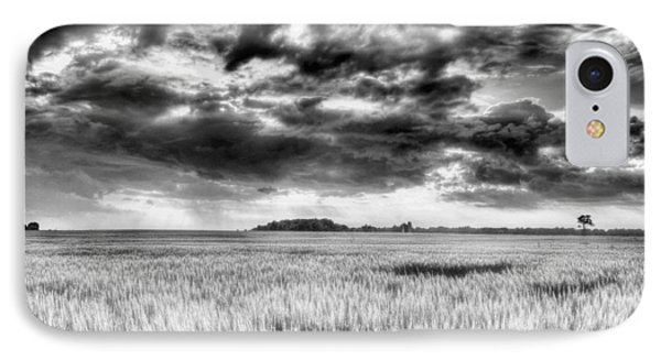 Drama In Delmarva Bw IPhone Case by JC Findley