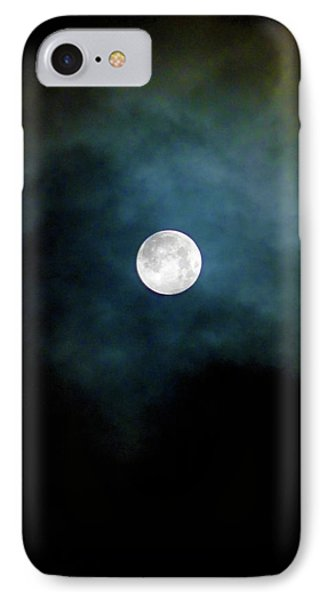 IPhone Case featuring the photograph Drama Queen Full Moon by Menega Sabidussi