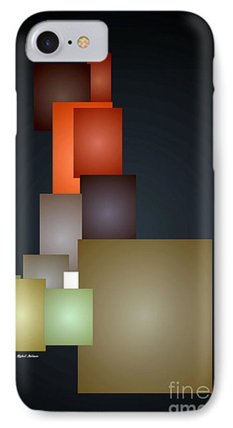Dramatic Abstract IPhone Case by Rafael Salazar