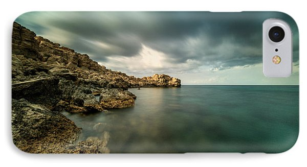 Dramatic And Calm IPhone Case by Stelios Kleanthous