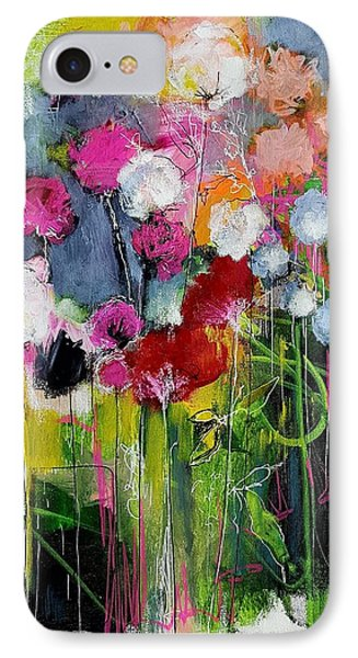 Dramatic Blooms Phone Case by Nicole Slater