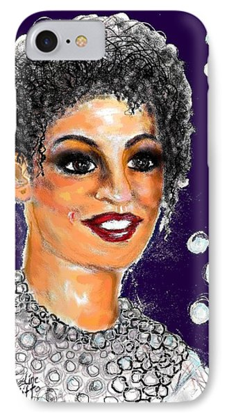 IPhone Case featuring the digital art Dramatic Flare by Desline Vitto