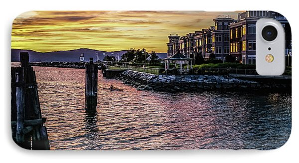 Dramatic Hudson River Sunset IPhone Case by Jeffrey Friedkin
