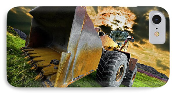 Dramatic Loader IPhone Case by Meirion Matthias