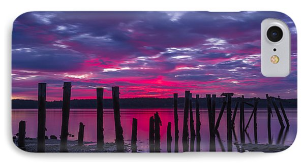 Dramatic Maine Sunrise IPhone Case