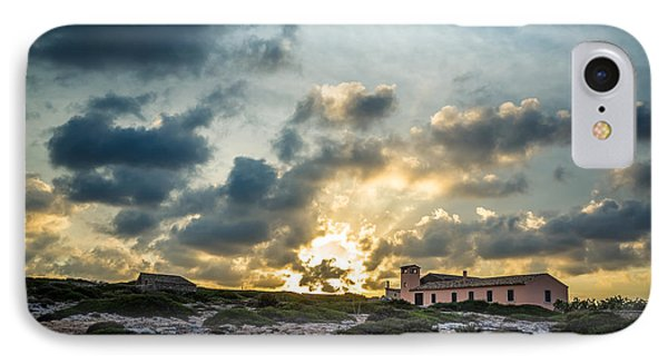 Dramatic Sunset IPhone Case by Alfio Finocchiaro