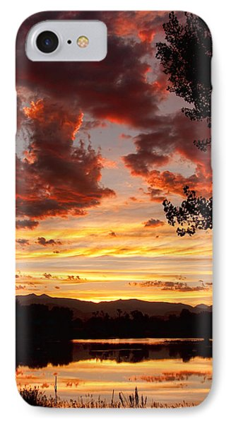 Dramatic Sunset Reflection Phone Case by James BO  Insogna