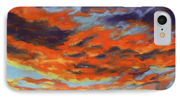 Dramatic Sunset - Sky And Clouds Collection IPhone Case by Anastasiya Malakhova