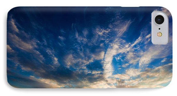 Dramatic Sunset Sky Over Tuscany Hills IPhone Case by Michal Bednarek