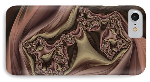 Drapes Abstract IPhone Case by Marianna Mills