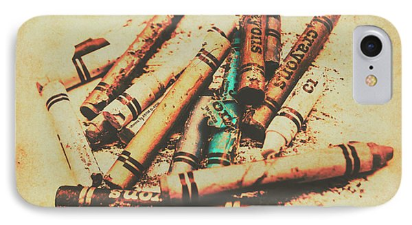 Draw Of Vintage Art IPhone Case by Jorgo Photography - Wall Art Gallery