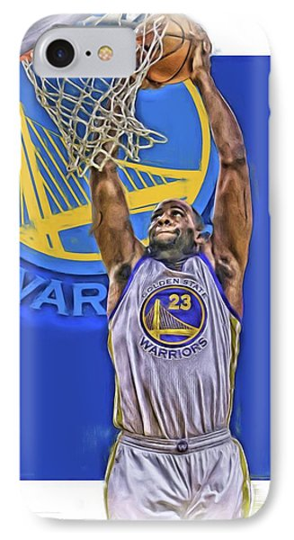 Draymond Green Golden State Warriors Oil Art IPhone Case