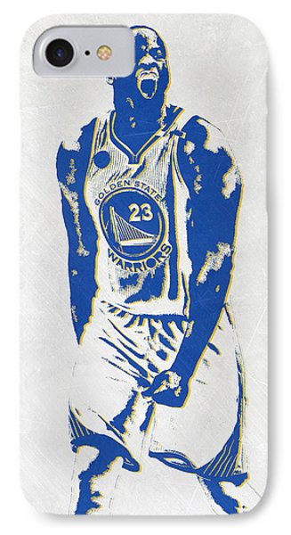 Draymond Green Golden State Warriors Pixel Art IPhone Case