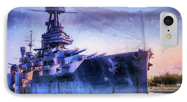 Dreadnought IPhone Case by JC Findley