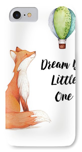 IPhone Case featuring the digital art Dream Big Little One by Colleen Taylor
