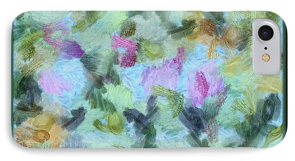 IPhone Case featuring the mixed media Dream Bigger by Trish Tritz