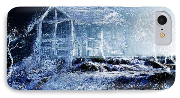 IPhone Case featuring the painting Dream Cabin  by Michael Cleere