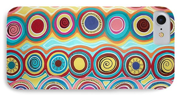 Dream Circles Phone Case by Karla Gerard