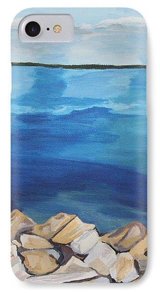 Dream Lake Phone Case by Annette M Stevenson