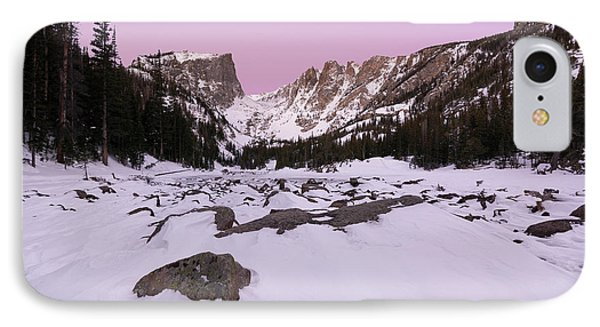 IPhone 7 Case featuring the photograph Dream Lake - Pre Dawn by Aaron Spong
