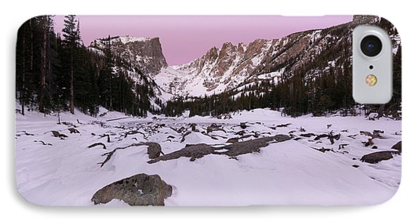IPhone Case featuring the photograph Dream Lake - Pre Dawn by Aaron Spong