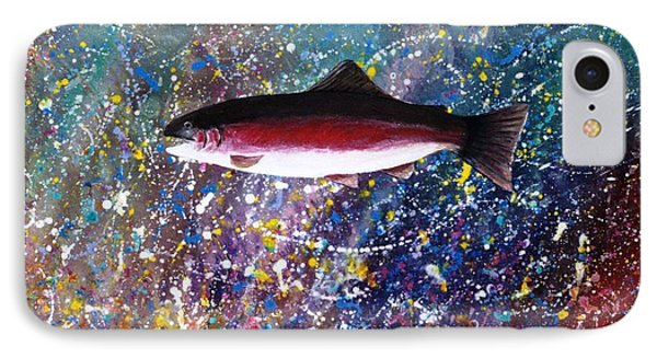 Dream Of The Rainbow Trout Phone Case by Lee Pantas