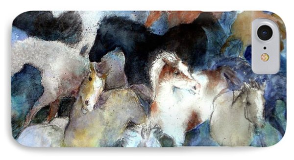 Dream Of Wild Horses IPhone Case