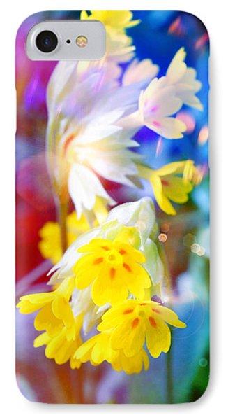 Dream Of Yellow Flowers Phone Case by Mikko Tyllinen