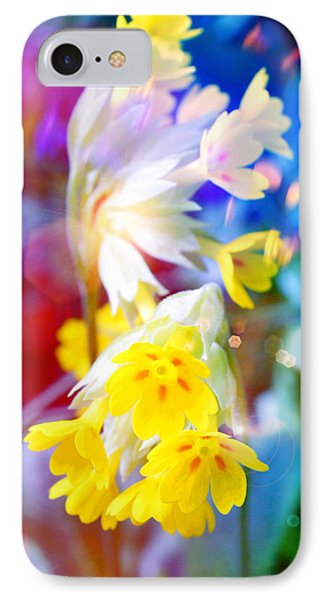 Dream Of Yellow Flowers IPhone Case by Mikko Tyllinen