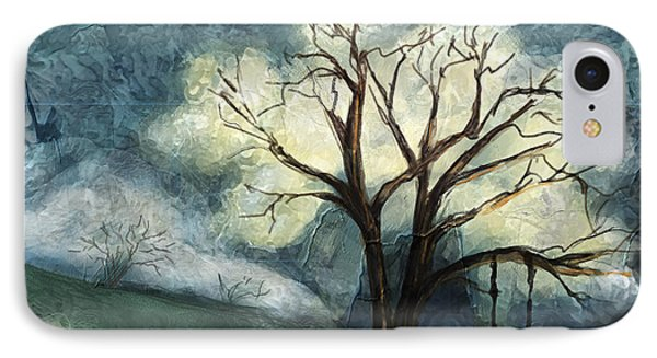 IPhone Case featuring the painting Dream Tree by Annette Berglund