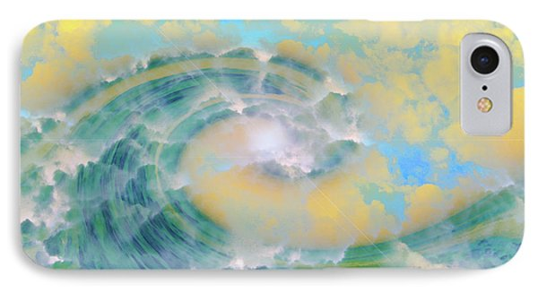 Dream Wave IPhone Case by Linda Sannuti
