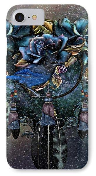 Dreamcatcher Winter Blues IPhone Case