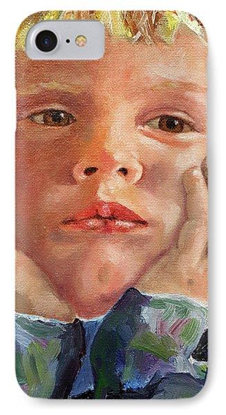 Dreamer IPhone Case by Janet Garcia