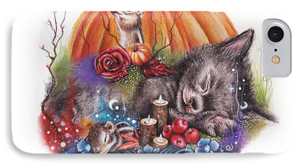 Dreaming Of Autumn IPhone Case by Sheena Pike