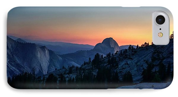 IPhone Case featuring the photograph Dreaming Of Climbing Half Dome by Peter Thoeny