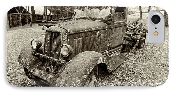 Dreaming Of Days Past - Vintage Dodge Truck IPhone Case by Stephen Stookey