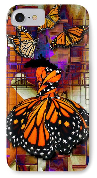 IPhone Case featuring the mixed media Dreaming Of Flying High by Marvin Blaine