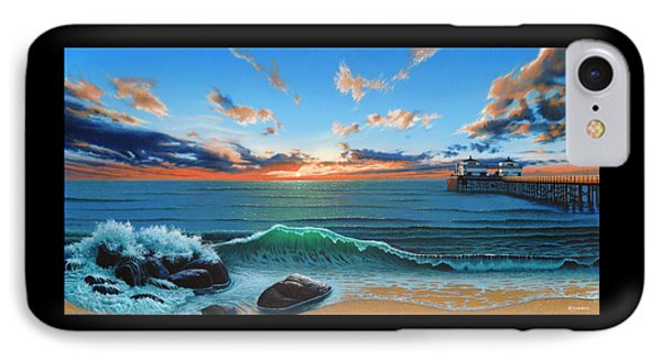 Dreaming Of Malibu Beach IPhone Case by Ross Edwards