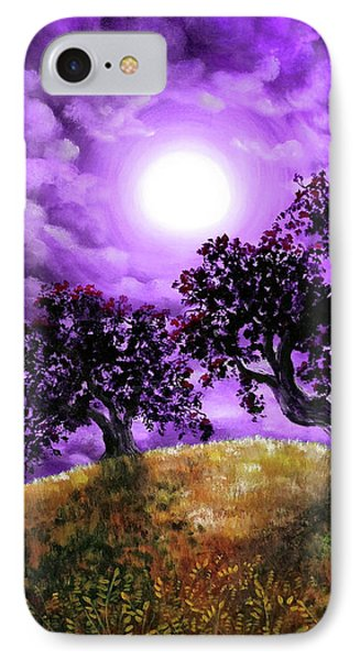 Dreaming Of Oak Trees IPhone Case by Laura Iverson