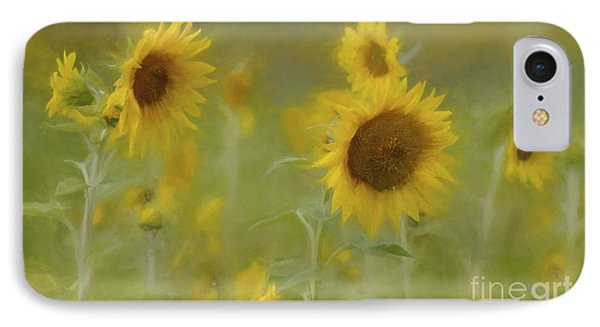 IPhone Case featuring the photograph Dreaming Of Sunflowers by Benanne Stiens