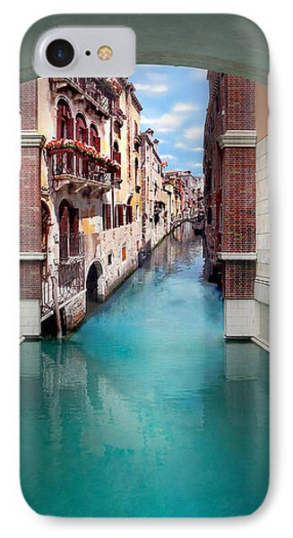 Dreaming Of Venice Vertical Panorama IPhone Case by Az Jackson
