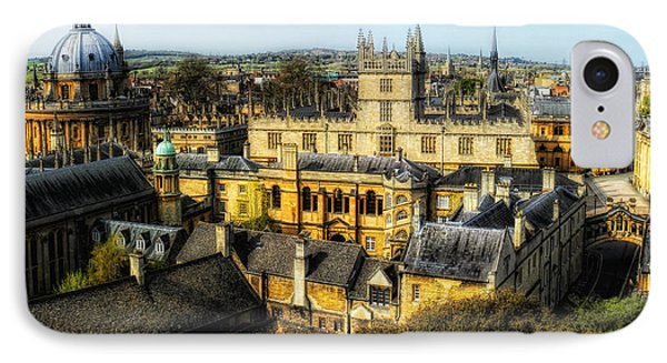 Dreaming Spires IPhone Case by Nigel Fletcher-Jones