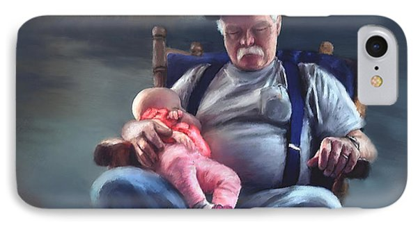 Dreaming With Grandpa IPhone Case