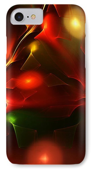 Dreams Of Christmas Past IPhone Case by David Lane