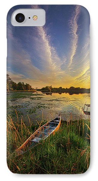 Dreams Of Dusk IPhone Case by Phil Koch
