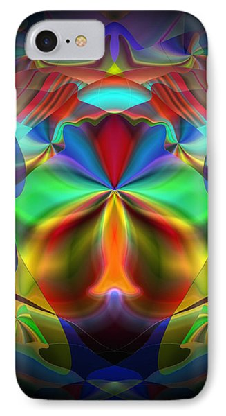 IPhone Case featuring the digital art Dreams Of The Future by Lynda Lehmann
