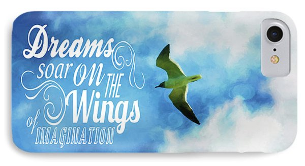 IPhone Case featuring the photograph Dreams On Wings by Jan Amiss Photography