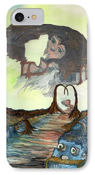 Dreamscape IPhone Case by Angela Pelfrey