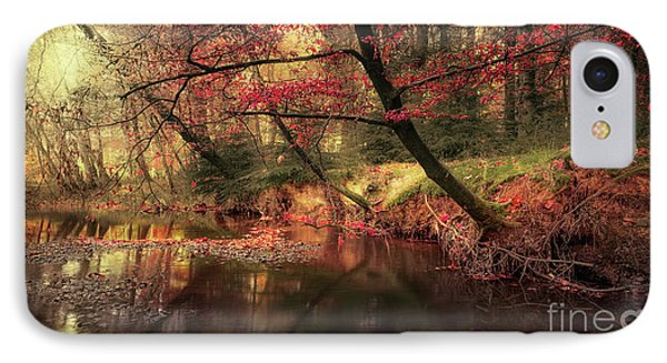 Dreamy Autumn Forest IPhone Case